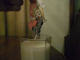 Edward Elric Paper Child 3 by CopperLetters