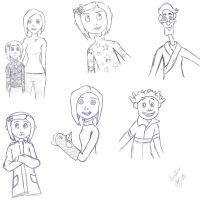 Coraline sketches by supermutts