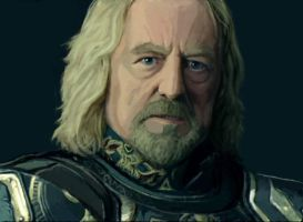 Theoden by FonteArt