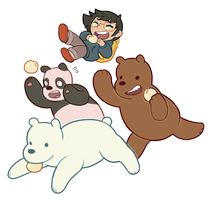 WE BARE BEARS by toripng