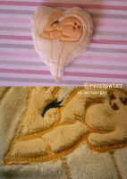 Handmade Applejack Heart Pillow by HipsterOwlet