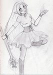 Young Eiyanga outfit -sketched WIP- by Elliyos