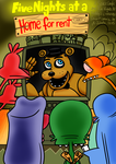 Five Nights at a Home for rent comic cover by NatalieTheAntihero