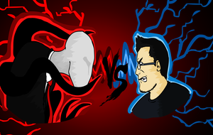 Markipler vs Slenderman by Pa3sha3