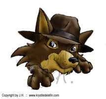 We called the dog Indy... by MooneyeKitsune