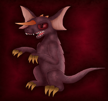 Baragon by PlagueDogs123