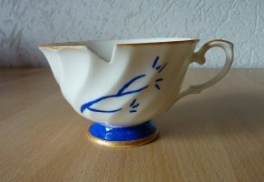 Belle OUAT Chipped Cup by HEXEnART