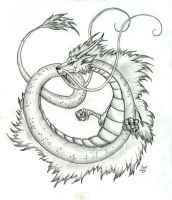 Japanese Dragon by Lizzy23