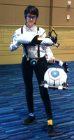 Wheatley Cosplay- Nashicon 2015 by gabsters109