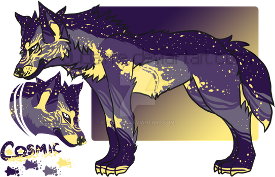 Cosmic Coyote Paypal Design Auction:: CLOSED by Judaime