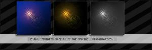 10 Light Icon Textures .. by Silent-yelling
