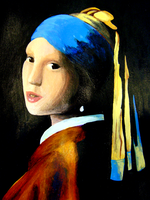 The Girl With The Pearl Earring by dulciejackson