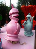 Disneyland Paris - Alice in Wonderland -5- by Maliciarosnoir-stock