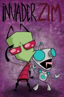 Invader Zim Poster by kaitlynjanetm