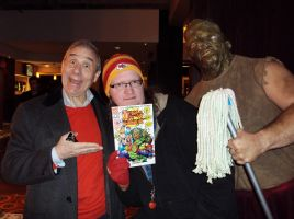 Uncle Lloydie, ME and Toxie from TROMA! by mickmoart