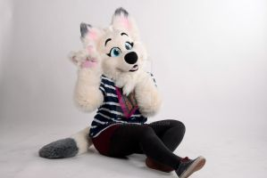Say hello to Mika Wolf ! c: by nlorier