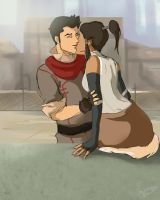 Lok: aww ... smooch by juniperjadelove