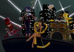 A band without basstis by JustAnEgg