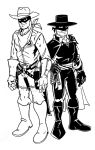 The Lawman and the Outlaw by wonderfully-twisted