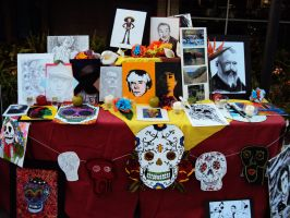 Day of The Dead Altar 2 by Humble-Novice