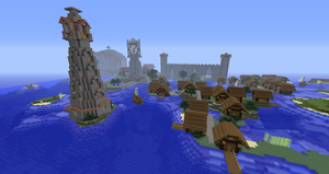 Minecraft 'Puerto de Corazon' Low District by Sherio88