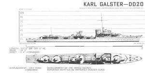 Technical Drawings: KMS Karl Galster by bwan69