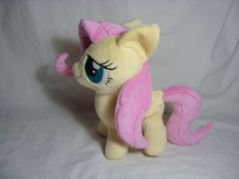 Fluttershy filly plush by PlanetPlush