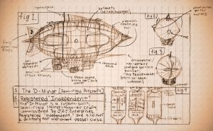 D-Minor Airship Blueprints by videolizzard99