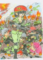 The Neon Army by k123money