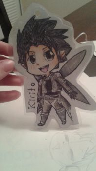 Kirito Con Badge by AncPikachu