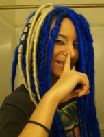 Sonic the Hedgehog Dreads by Zero-G-Raven