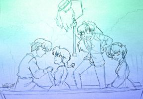 Ranma - Double Date by irishgirl982