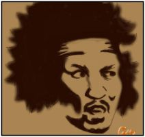 Jimi Thing by JustCin