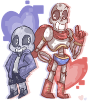 skeleton sons by toykniife