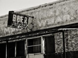 Black and White Bar by josafisch