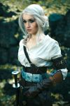 Cirilla - the Lion Cub of Cintra -Witcher 3 by love-squad
