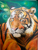 Resting Tiger by lee1a