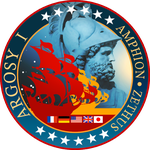 Argosy 1 Mission Patch by RobCaswell