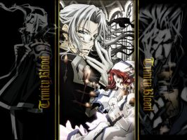A Trinity Blood Wallpaper by SoLoNg-and-GoOdNiGhT