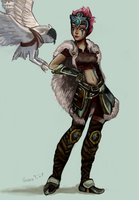 Woad Scout Quinn by Guava-Pie