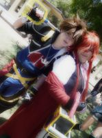 Sora And Grell by FarOffMemoryCosplay