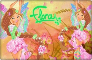 Winx Club Season 5 Exclusive Flora  Harmonix! by AlexaSpears1333