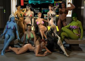 Trek Bikini Ladies by willdial