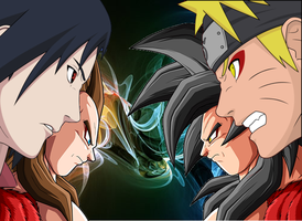 DB VS Naruto by Goco-Tarrus