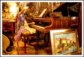 Morning Glory Antiques (Piano) by Merhlin