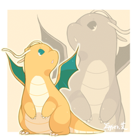 dragonite by Effier-sxy