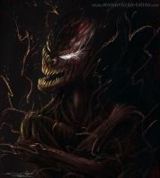 Carnage from Spider-man by AtomiccircuS