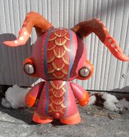 Custom demon monkey Munny 4 in by missmonster