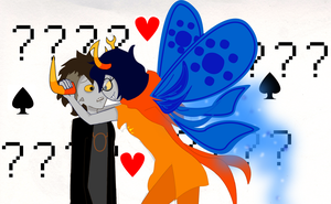 Tavros and Vriska by DaRk-Ri