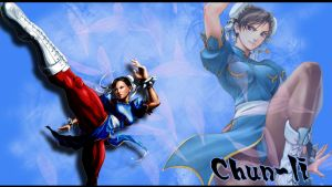 Chun-Li Wallpaper by casu90